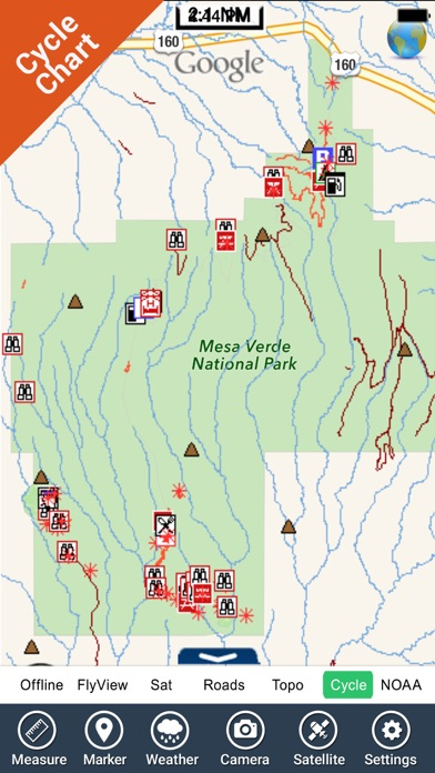 Mesa Verde Park GPS and outdoor map with guide | App Price Drops