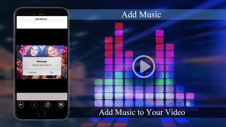 Merge Videos - Add Music and overlay effects to videos screenshot-3