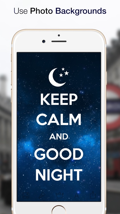 Keep Calm! Funny posters Creator Free