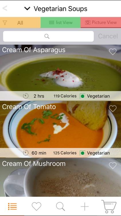 Veg Soup Recipes - Tomato, Potato, Minestrone