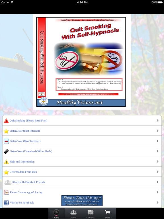 Quit Smoking With Self Hypnosis - iPad | App Price Drops