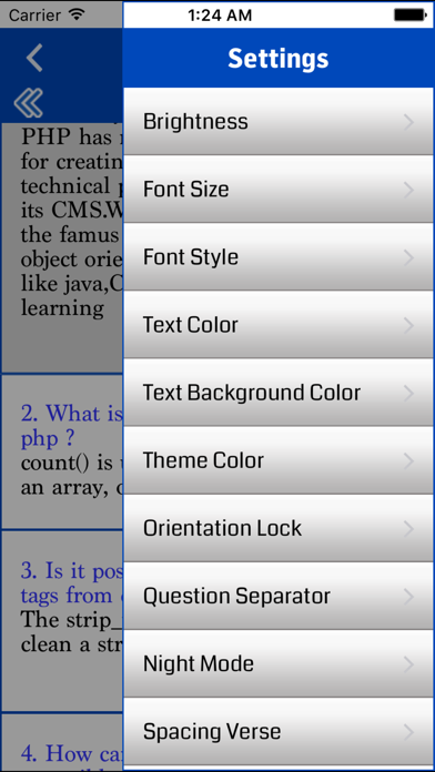 PHP Interview questions with answer screenshot four