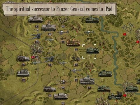 Panzer Corps на iPad