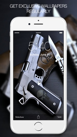 Weapon Wallpapers Gun On The App Store