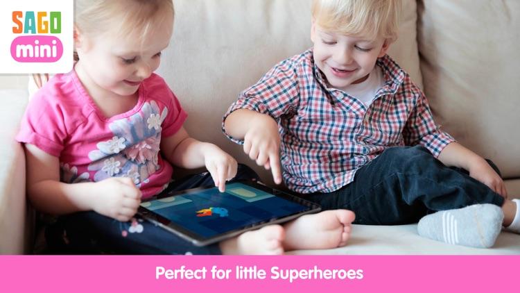 Sago Mini Superhero screenshot-3