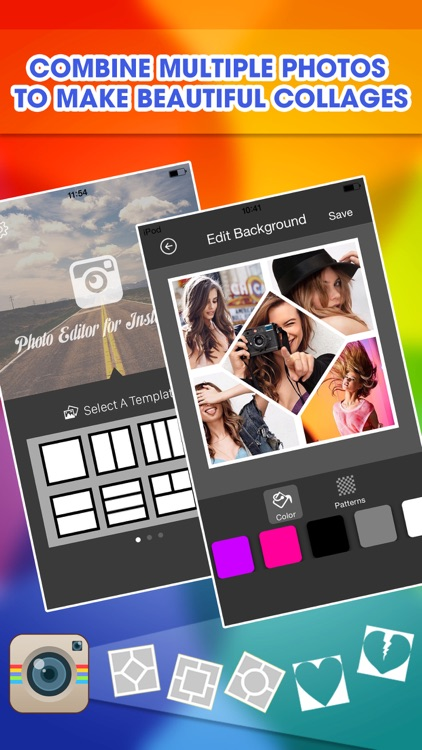 Photo Editor Effects Picture Collage Frames For Instagram