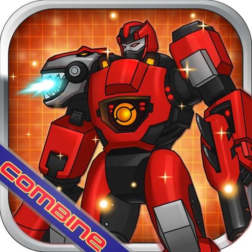 Trex Ruthless:Robot Dino Fighting Arcade Game