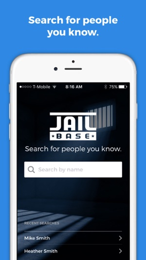 JailBase Arrests and Mugshots on the App Store