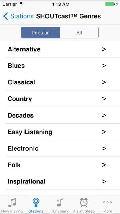 Tunemark Radio screenshot-3