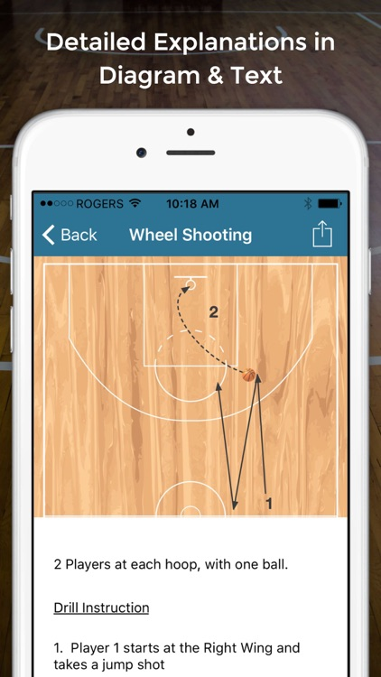 Basketball Shooting Drills screenshot-1