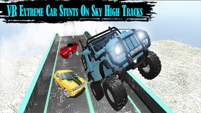 VR Extreme Stunts Motor Car: Real Sky Drive screenshot four