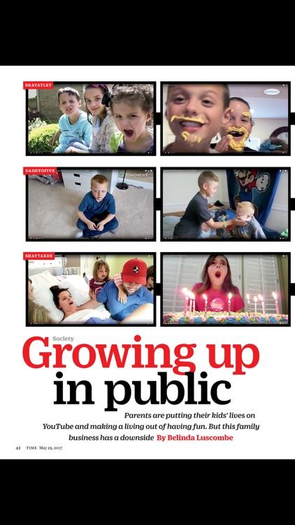 TIME Magazine app image