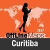 Curitiba mapa offline y guía de viaje