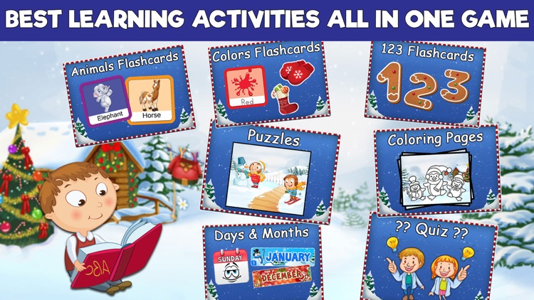 Preschool Learning Games - Christmas Edition