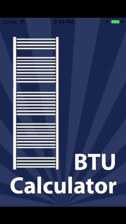 BTU / Radiator Calculator