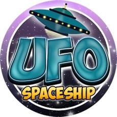 Activities of UFO Spaceship - Fly Zig Zag in Space