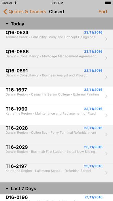 Tenders Online screenshot three