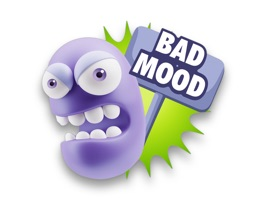 3D Bad Mood Expressions is a fun stickers pack