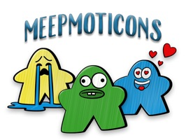 Meeple emoticons for folks who love board games
