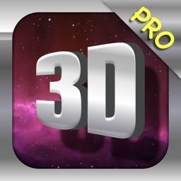 3D Words Pro-3D texts font maker