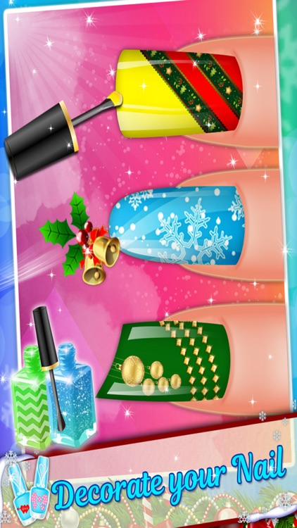 Christmas Nail Salon - Girls game for Xmas screenshot-3
