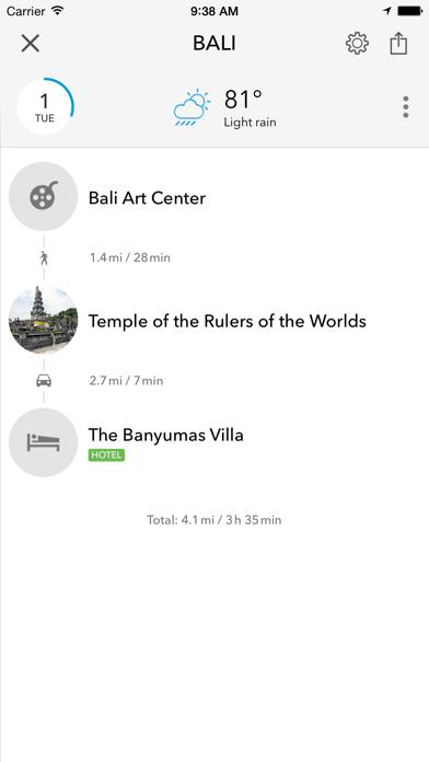 Screenshot of Bali - Mappa offline e guida della città5