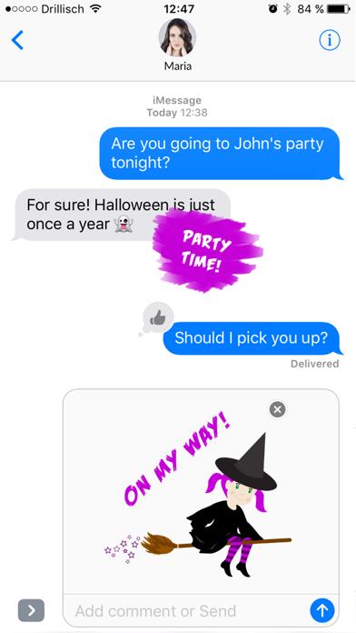Grusel - Halloween Stickers screenshot one