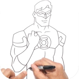 How to Draw Heroes Villains