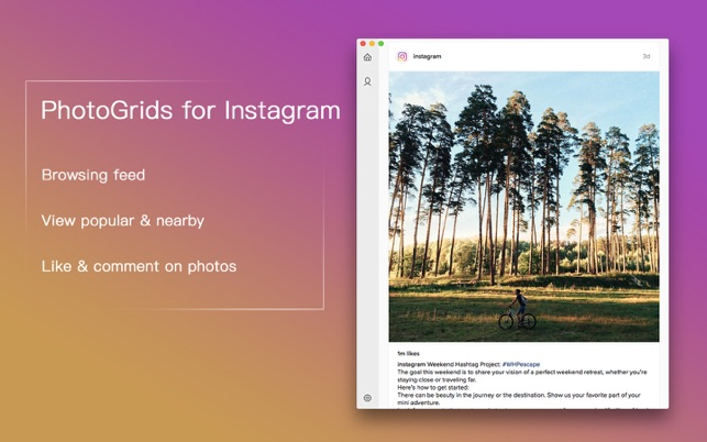 PhotoGrids for Instagram - view images & videos Screenshot