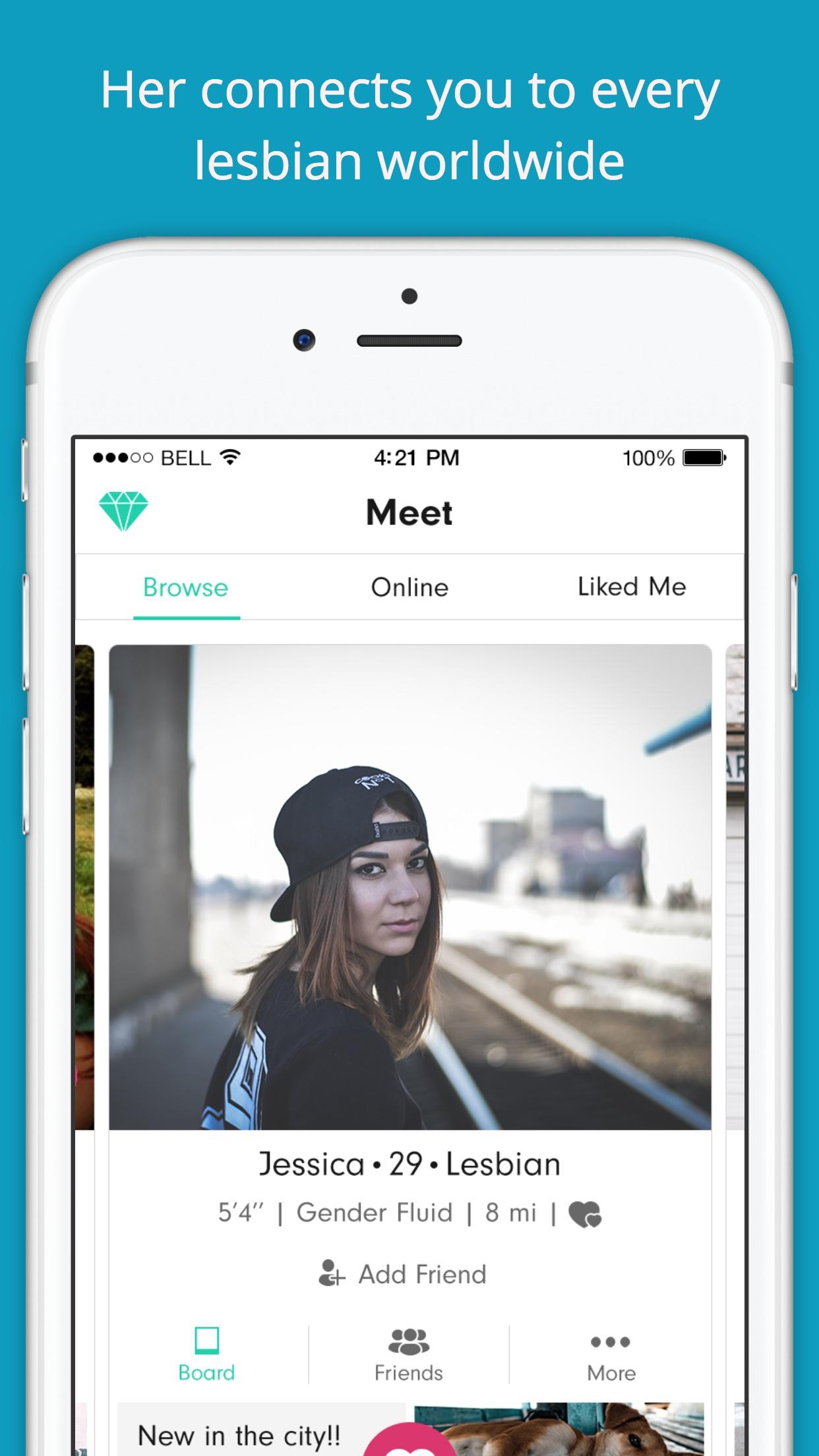 Her - LGBTQ Dating Screenshot