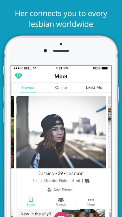 Her - Lesbian Dating App, Chat & Meet LGBTQ Dating