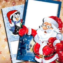 Christmas Holiday Wish.es - New Year Card Make.r