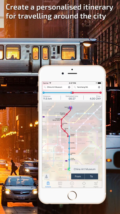 Shanghai Metro Guide and Route Planner