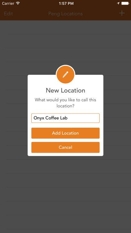 Peng! - Quick Location-Based Reminders