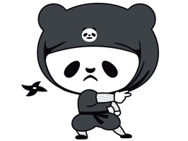 Pandas existed in Japan's proud ninja