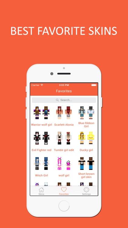 HD Girl Skins Best Collection For Minecraft PE By Bharatkumar Manvar - Skin para minecraft pe tumblr