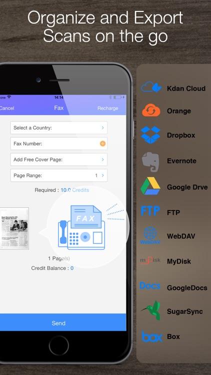 Pocket Scanner – PDF Scanner screenshot-3
