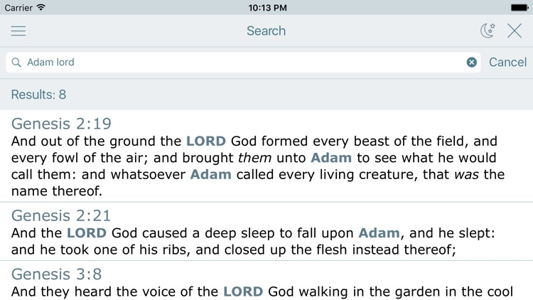 Holy Bible. Old Testament. The King James Version screenshot-3