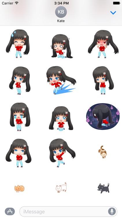 Nyao Nyanko Stickers screenshot-4