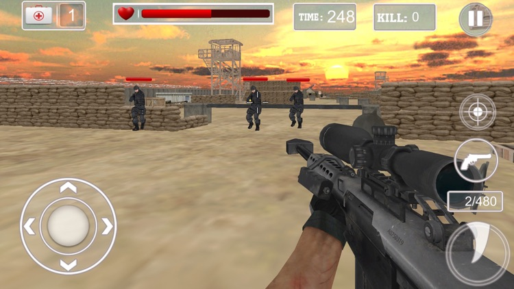 Sniper Shooter 3d games