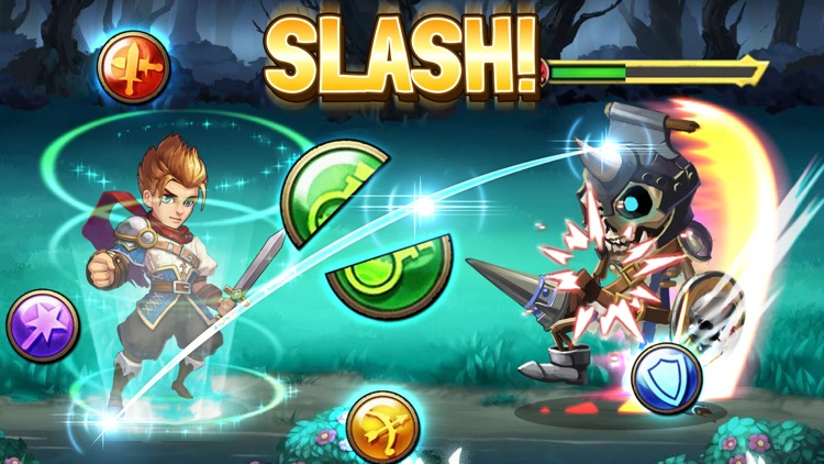 Slash Saga - Swipe Action Card RPG