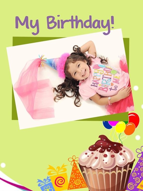 Happy Birthday Cards Frames Premium App Price Drops