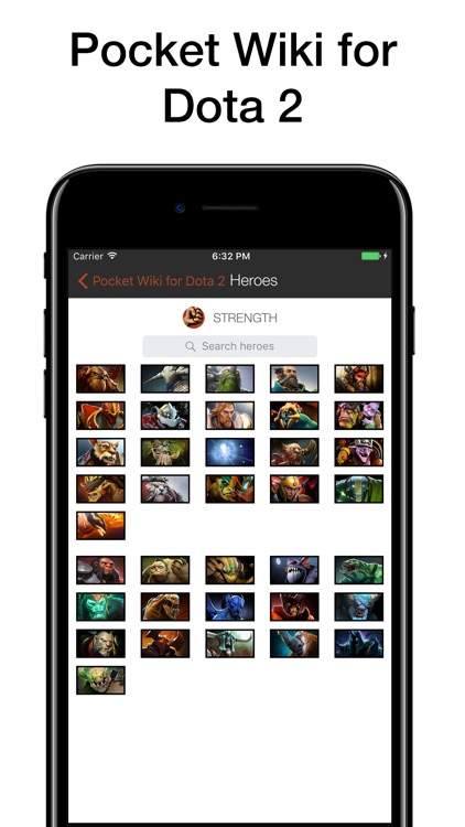 Pocket Wiki for Dota 2 screenshot-0