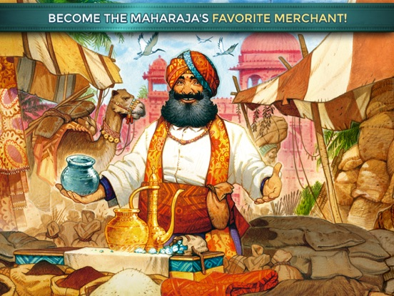 Jaipur: the board game на iPad