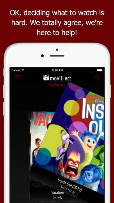 moviElect - Decide Which iTunes Movie or Rental to Watch for