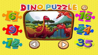 Dino Puzzle Game For Kid Free Jigsaw For Preschool screenshot one