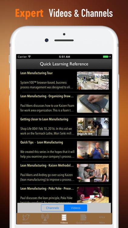 Lean Manufacturing 101-Video Lessons and Top News screenshot-3