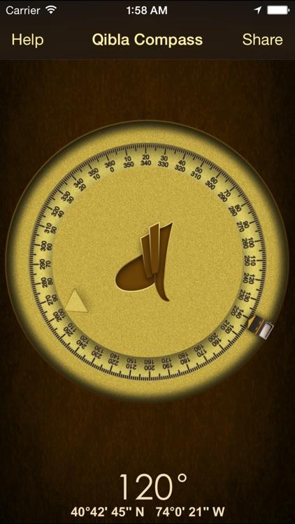 iSalam: Qibla Compass