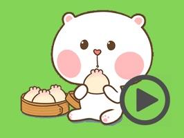 Cool Little Bear Animated