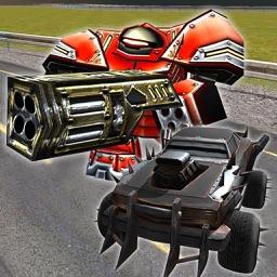 Car Robot Racing Wars